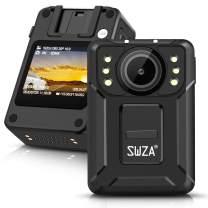 SWZA M2 1440P HD Police Body Camera,128G Memory,Ambarella H22 Chipset,Night Vision,Mini Portable Body Camera,Waterproof Body Worn Camera for Law Enforcement,Personal Use