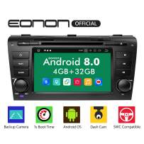 """Eonon Car Stereo Radio 7"""" Android 8.0, 32GB ROM Car GPS Navigation Head Unit, Compatible with Mazda 3 (2004-2009),Support Bluetooth, WiFi Connection- GA9151B"""