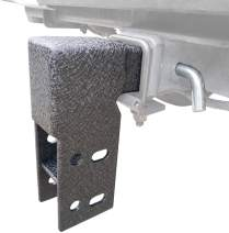"""TAC Universal Hitch Step Adjuster Fit Most Hitch Step Brand Selling on The Market/Two Stages Adjustable Drop Mount on 2"""" Hitch Receiver"""