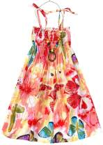 Girls & Womens Summer Floral Midi Dress, 18 Month - XL