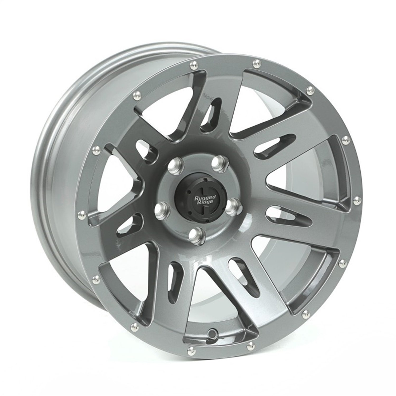 XHD Wheel, 17x9, Gun Metal; 07-19 Jeep Wrangler/Gladiator
