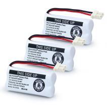 QBLPOWER BT166342/BT266342 2.4V 600mAh Ni-Mh Cordless Phone Battery BT162342 BT262342 BT183342 BT283342 CS6114 CS6419 CS6719 EL52300 CL80111 (3 Pack BT166342)