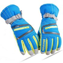 JEELAD Ski Gloves Winter Snow Gloves Waterproof Windproof Thermal Cycling Riding Gloves for Men, Women, Teenager