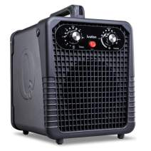Ivation Ozone Generator Air Purifier, Powerful Compact Unit Deodorizes, Sanitizes & Improves Indoor Air Quality Up to 4000 Sq. Ft. - for Dust, Pollen, Pets, Smoke & More
