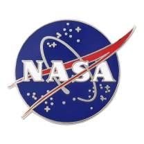 Real Sic NASA Pin - Astronaut Space Lapel Pin - Premium Quality NASA Enamel Pin for Men, Women, Backpacks, Hats, Jackets and Bags