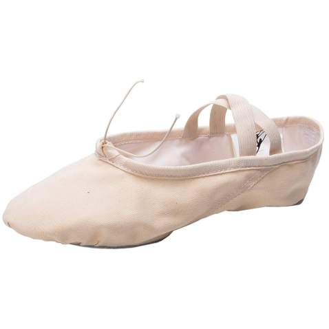 Cpdance(TM Canvas Split Sole Practice Ballet Dancing Shoes Slipper Yoga Shoes for Children and Adults