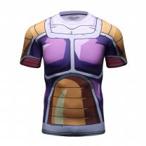 Red Plume Men's Compression Shirt, Super Armor Fitness Short Sleeve T-Shirt