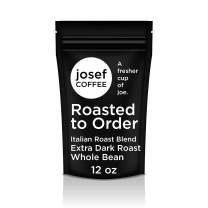 Josef Coffee - Coffee Beans Roasted Fresh After You Order: Italian Roast Blend, Extra Dark Roast (Whole Bean, 12 oz)