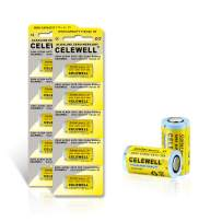 【5-Year Warranty】CELEWELL 4LR44 6V Battery 170mAh High Capacity Same as 28A 4A76(10-Pack)