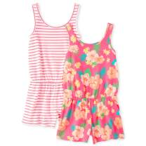The Children's Place Girls' Rompers, Pack of Two