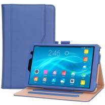 """ProCase Galaxy Tab A 8 2019 Case P200 P205- Stand Folio Case Cover for Galaxy Tab A with S Pen 8.0"""" 2019 Release Model SM-P200 (Wi-Fi) SM-P205 (LTE) –Navy"""