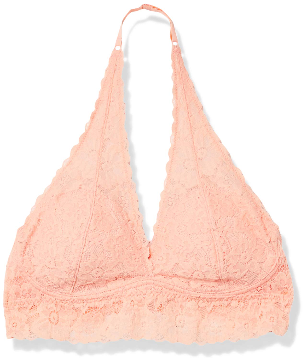 Amazon Brand - Mae Women's Halter Lace Bralette (for A-C cups)