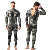Nataly Osmann Mens 3mm /1.5mm Wetsuits Camo Neoprene Full Body Diving Suits One Piece Spearfishing Suit