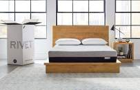 Amazon Brand – Rivet Memory Foam Mattress with Celliant Cover, 10-Inch Height, Queen