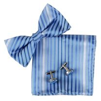 Epoint Men's Fashion Best Gift Giving Bow Tie Hanky Cufflinks for Mens