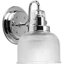 Progress Lighting P2989-15 1-100W MED Bath Bracket, Polished Chrome