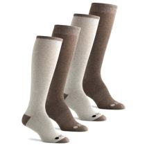 The Comfort Sock (TCS) Women's Cotton Knee High Boot Socks with Cushion