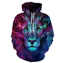Azuki Unisex Digital Print Sweatshirts Hooded