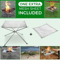 """KEGOMAS - Portable Outdoor Fire Pit (Large 22"""") 