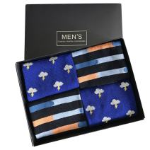 SUTTOS Elite Men's Fashion Pattern Fun Colorful Cotton Casual Dress Socks,4 Pairs with Gift Box