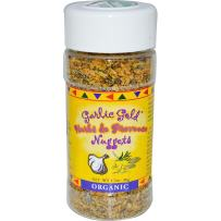 Garlic Gold USDA Certified Organic Toasted Organic Garlic Nuggets Herbs de Provence - Great Herb Seasoning (1.7 oz)
