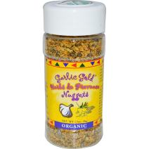 Garlic Gold USDA Certified Organic Toasted Organic Garlic Nuggets Herbs de Provence - Great Herb Seasoning (1.7 oz)