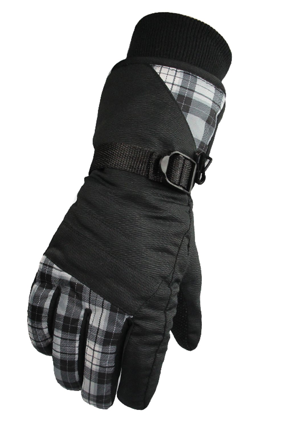 Runtlly Women's Outdoor Skiing Gloves Winter Warm Gloves Full Finger Waterproof Gloves Athletic Gloves