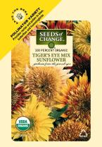 Seeds of Change Certified Organic Tiger's Eye Mix Sunflower