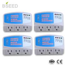 BSEED US Plug Home Appliance Surge Protector Power Suppressor Voltage Brownout Outlet (008) 4 PACK