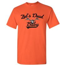 Zed's Dead, Baby - Classic Movie Quote Motorcycle T Shirt