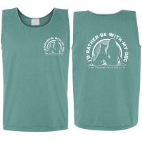 I'd Rather Be with My Dog Girl's Best Friend Tank