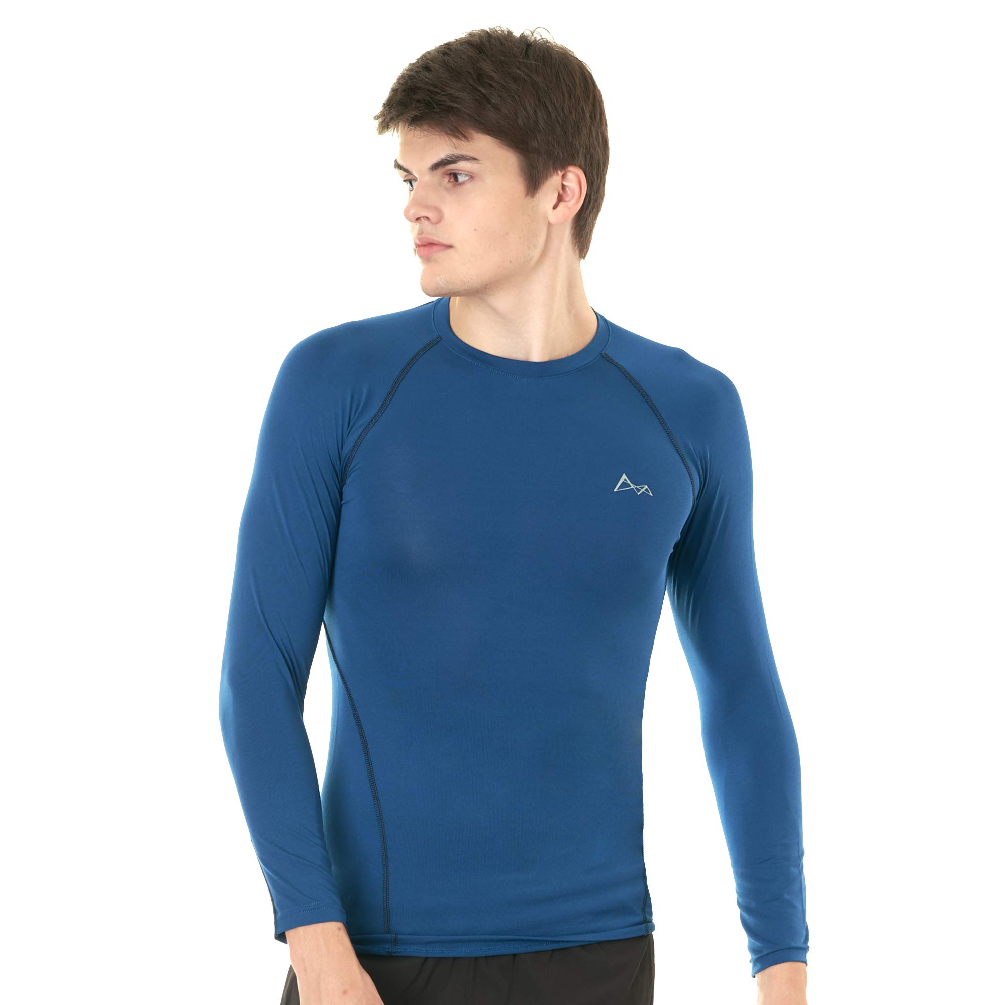 Turaag Men's Baselayer Long Sleeve T-Shirt for Yoga, Running & Gym