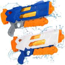 Jogotoll Water Guns for Kids,2 Pack Super Water Blaster Soaker Squirt Guns, 1200cc High Capacity Toys for Kids & Adult, Summer Sand Pool Beach Outdoor Water Fighting Play Toys