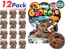 JA-RU Stress Ball Jelly Beads Balls Squishy Toy DNA Globbie (Pack of 4) Stress Relief Toy for Kids and Adults. Great for Anxiety, Autism and Hand Therapy. Party Favor Supply in Bulk. #4200-12p
