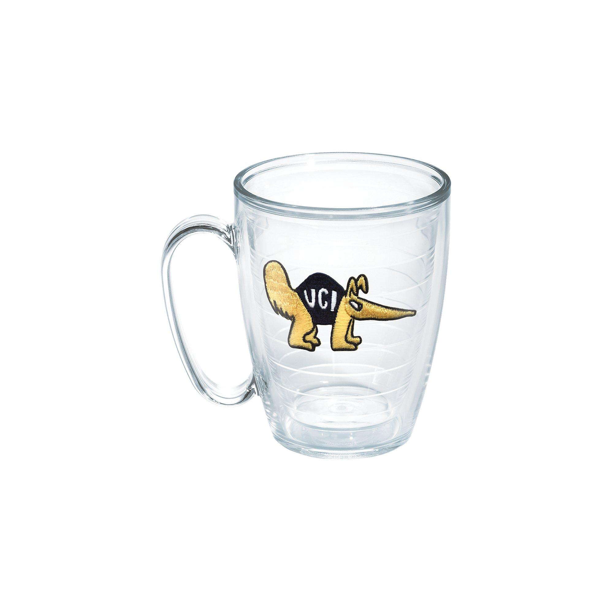 Tervis 1049654 Ca University Irvine Emblem Individual Mug, 16 oz, Clear