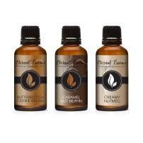 30ML - Trio (3) - Butterscotch Cookie Dough, Caramel Nut Muffin & Creamy Nutmeg - Premium Fragrance Oil - 30ML