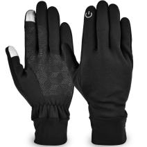 LSYCG Touch Screen Gloves, Winter Warm Gloves for Men Women - Windproof Waterproof Gloves for Cycling, Running, Climbing and Winter Outdoor Sports