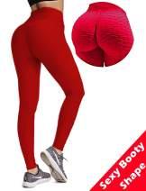 Women Butt Lift Yoga Pants Hight Waist Scrunch Booty Leggings Workout Tights