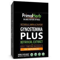 Gynostemma Plus Jiaogulan Extract Powder | AMPK Metabolic Activator - with Tibetan Rhodiola & Goji Berry | - 99 Servings - Includes Bamboo Spoon