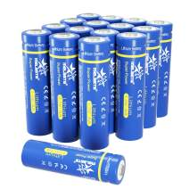 melasta AA Lithium Batteries, 16-Pack 1.5V 2900mAh Long-lasing Double A Battery Replacement for AA Alkaline Batteries (Non-Rechargeable)