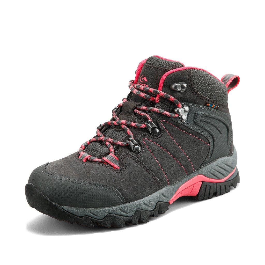 Clorts Women's Hiker Waterproof Lightweight Hiking Camping Boot Outdoor High-Traction Grip Backpacking Shoe