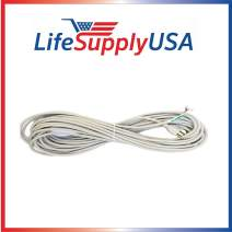 LifeSupplyUSA 4 Pack 50 ft, 50 Foot, 50' Feet Vacuum Cord 18/3 18-3 18 3 Compatible with Sanitaire Eureka 52370-12