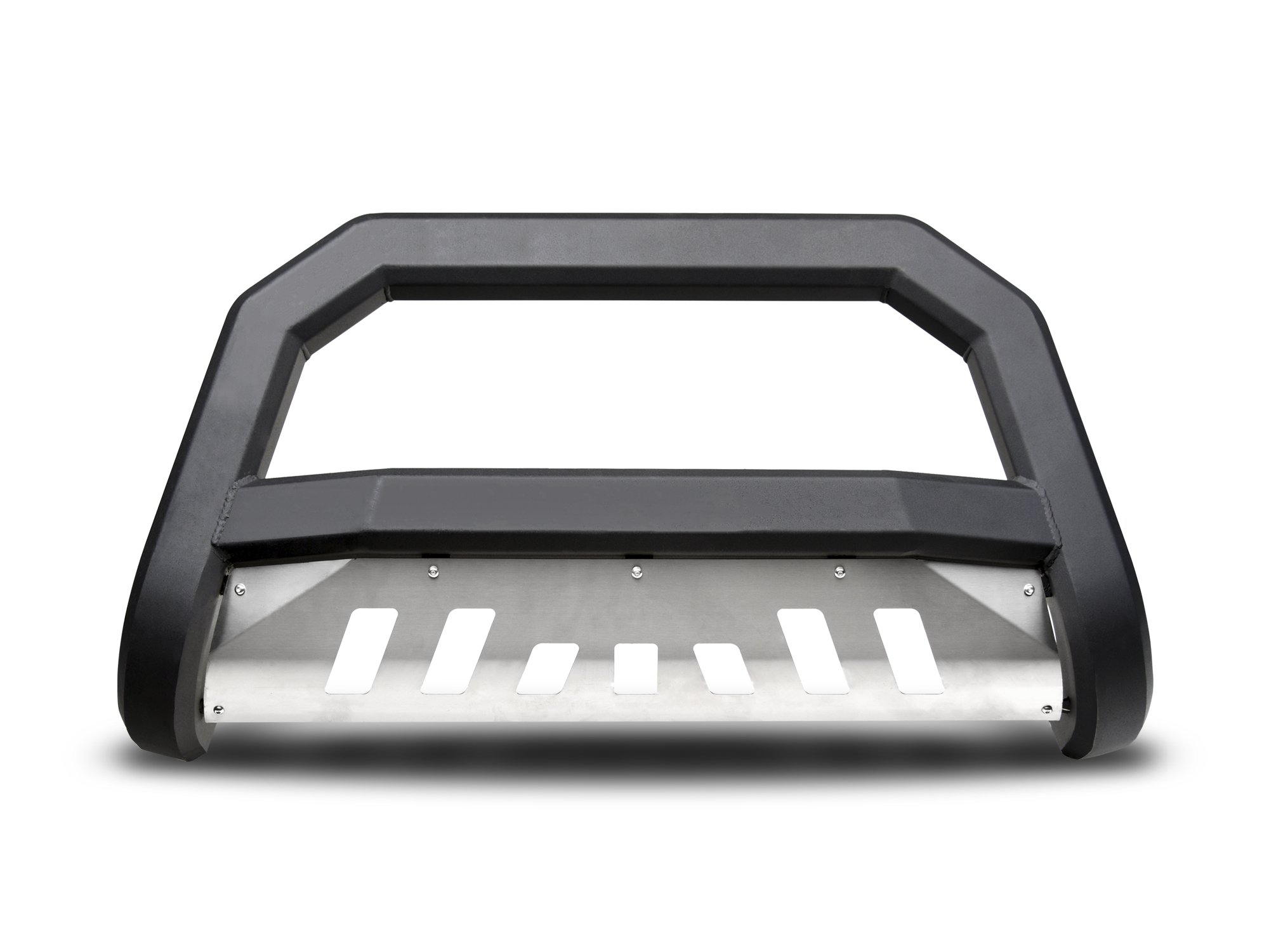 Armordillo USA 7170148 AR Series Bull Bar Fits 2007-2019 Toyota Tundra - Matte Black W/Aluminum Skid Plate