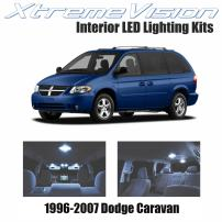 Xtremevision Interior LED for Dodge Caravan 1996-2007 (16 Pieces) Cool White Interior LED Kit + Installation Tool