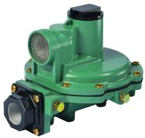 "Emerson-Fisher LP-Gas Equipment R622-BCG 2nd Stage Regulator, 13-20"" W.C Spring, 1/2"" x 1/2"" NPT"