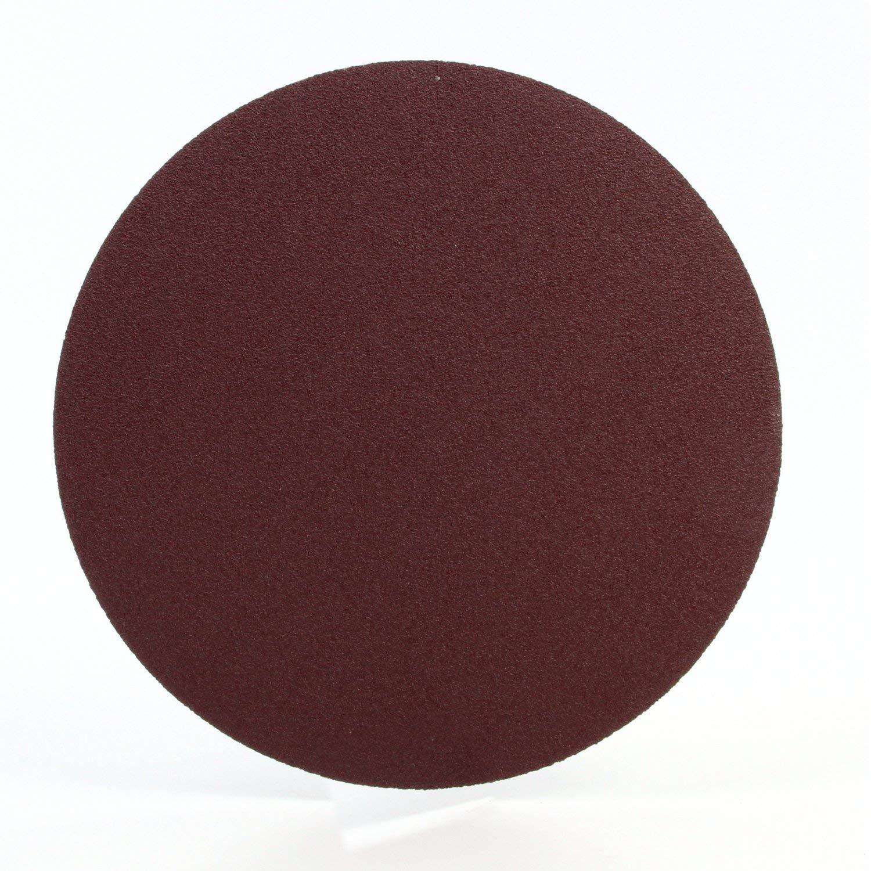 3M PSA Cloth Disc 348D, 80 X-weight, 10 in x NH, Die 1000C