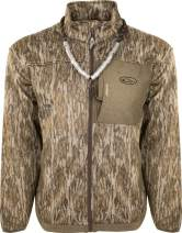Drake Waterfowl MST Endurance Hybrid Liner Full Zip Mossy Oak Bottomland 3Xlarge
