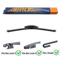 "AERO 14"" OEM Quality Premium All-Season Roc Lock 2 & 3 J-Hook Rear Wiper Blade"