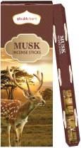Shubhkart Musk Incense Sticks- (Pack of 6 Tubes Inside The Box) 120 Sticks