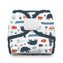 Thirsties Reusable Cloth Diaper Cover, Hook & Loop Closure, Adventure Trail Small